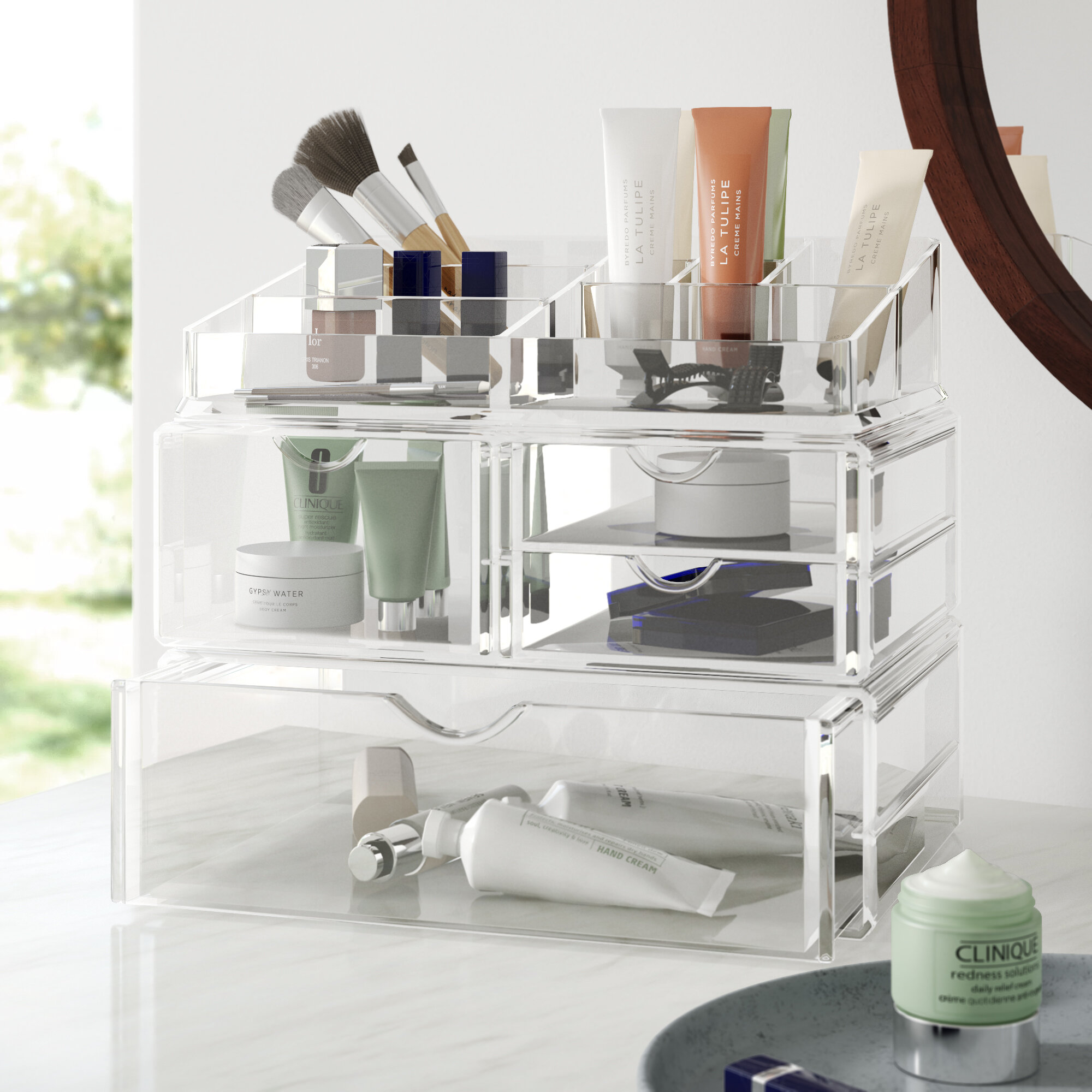 Dotted Line Cathy Cosmetic Organizer Reviews Wayfair