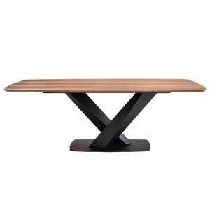 Reanna Contemporary Dining Table by Orren Ellis