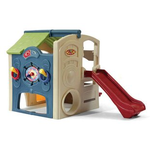 Affordable Neighborhood Fun Center 7' x 5.29' Playhouse By Step2