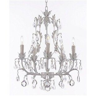 House of Hampton Molden Floral 5-Light Ch..