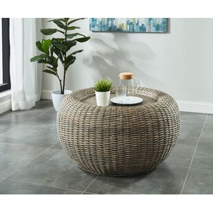 Levine Coffee Table with Tray Top