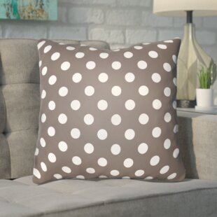 Hessler Halloween Polkadots Indoor/Outdoor Throw Pillow