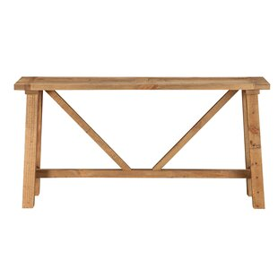 Stambaugh Reclaimed Wood Console Table by Millwood Pines New Design