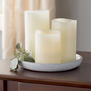 3 Piece Scented Flameless Candle Set