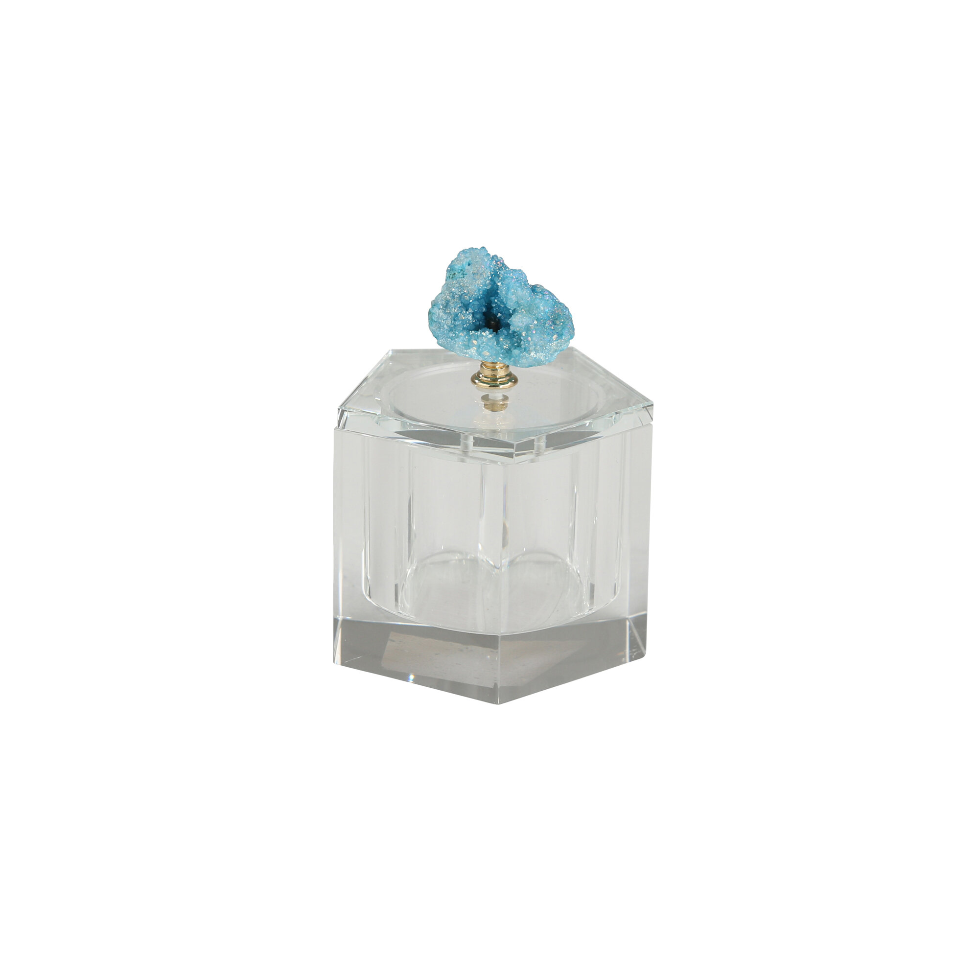 Orren Ellis Neville Crystal Covered Decorative Box Wayfair