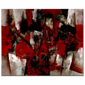 'Abstract IV' by Lopez Painting Print on Canvas