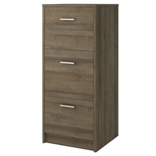 Stroupe 3 Drawer Vertical Filing Cabinet