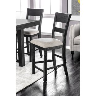 Aiden Upholstered Dining Chair (Set Of 2) by Gracie Oaks 2019 Sale