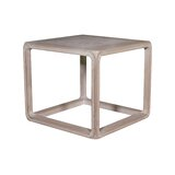Anita Solid Wood End Table by Rosecliff Heights