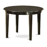 Hillhouse Solid Wood Dining Table by Red Barrel Studio®