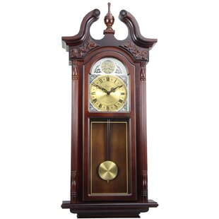 Chiming Wall Clock With Roman Numeral