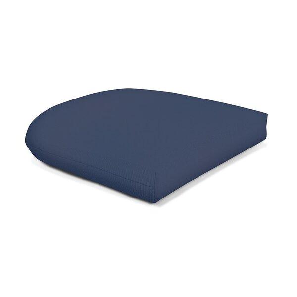 Wicker Indoor Outdoor Sunbrella Dining Chair Cushion Reviews Allmodern