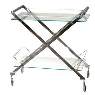 Orren Ellis Hardoby Bar Cart