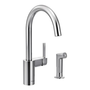 Moen Align Single Handle Kitchen Faucet with Side Spray
