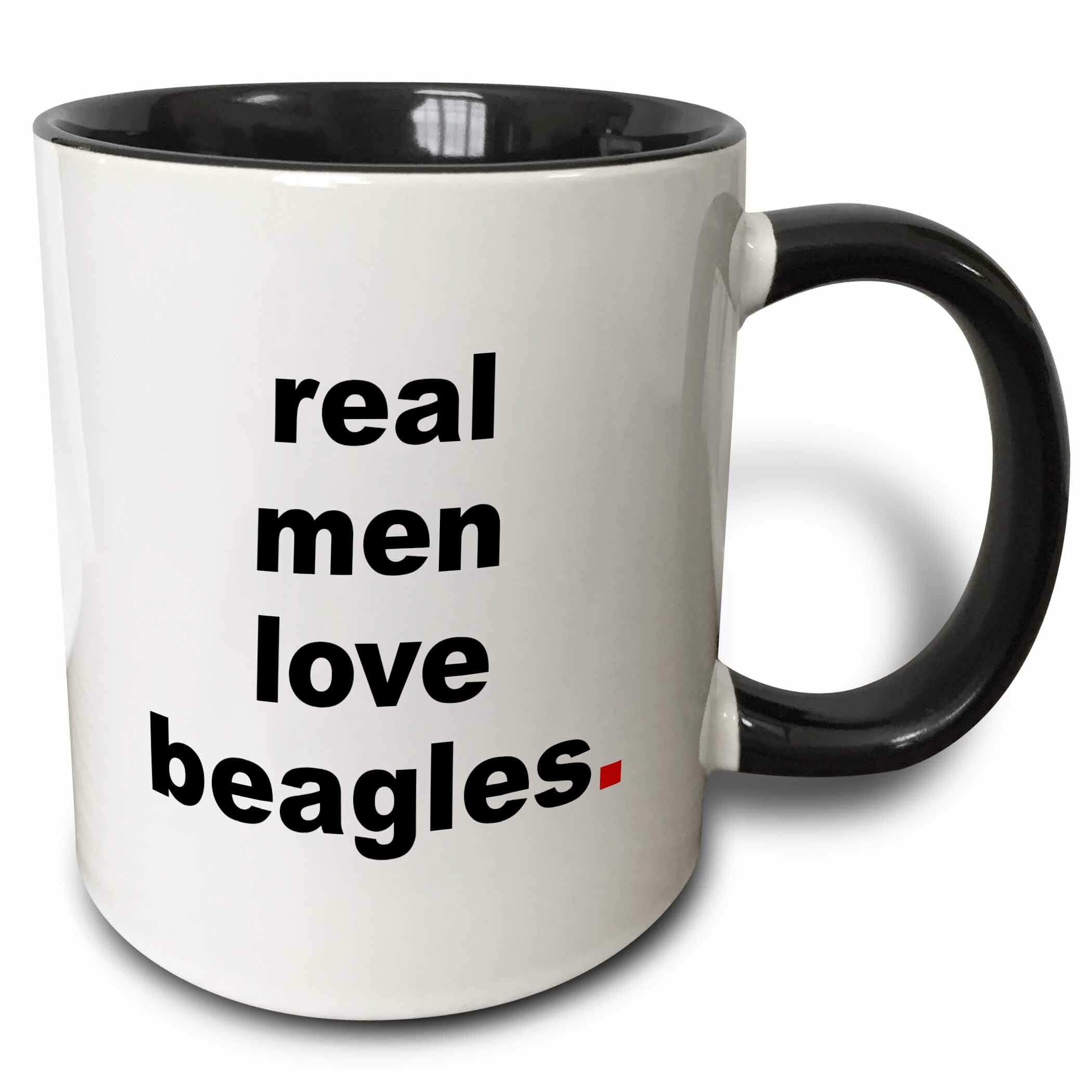 East Urban Home Real Love Men Poodles Coffee Mug Reviews Wayfair