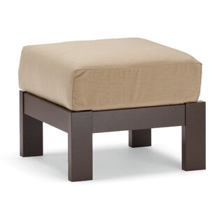 St. Catherine Deep Ottoman with Cushion by Telescope Casual