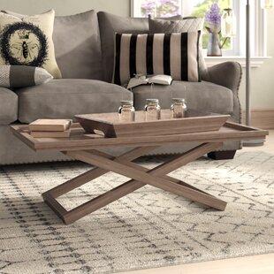 Birtha Coffee Table with Tray Top