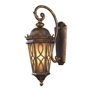 Best Reviews Boarstall 3-Light Outdoor Wall Lantern By Astoria Grand