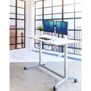 Symple Stuff Stephany Pneumatic Standing Desk