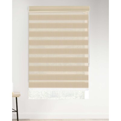 Symple Stuff Custom Made Corded Zebra Dual Layer Combi Sheer Cellular Shade