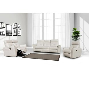 Orren Ellis Rebekah 3 Piece Reclining Liv..