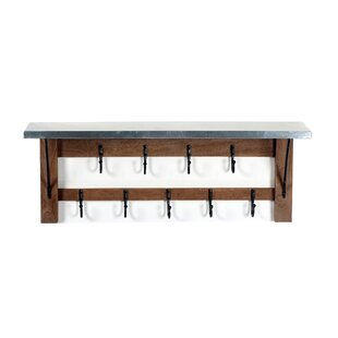 Crockett Wall Mounted Coat Rack By Blue Elephant