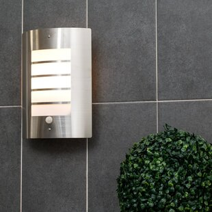 Chiswick Outdoor Bulkhead Light With Motion Sensor By Sol 72 Outdoor