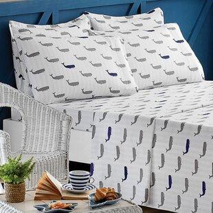 Whales 100% Cotton Sheet Set By Brielle