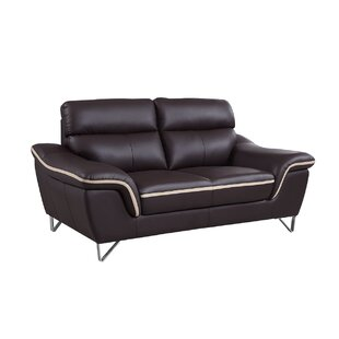 Orren Ellis Hawks Luxury Upholstered Living Room Loveseat