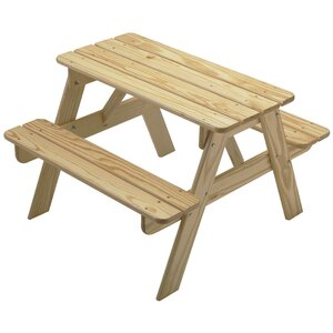 Zahara Kids' Picnic Table