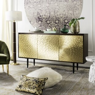 Robbyn Brass Sideboard by Everly Quinn