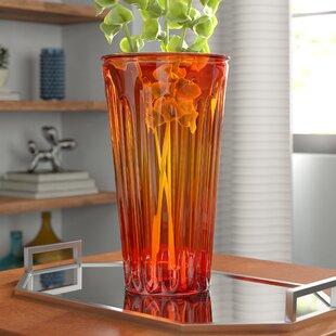 Flynn Ribbed Glass Vase