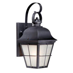 Bargain Fawcett 1-Light Outdoor Wall Lantern By Charlton Home