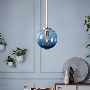 1-Light Globe Pendant by Casamotion