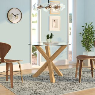 Hatmaker Dining Table by Wrought Studio