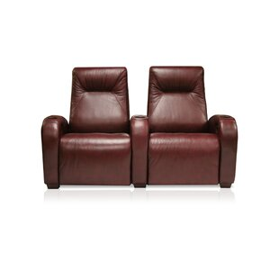 St. Tropez Home Theater Lounger (Row of 2) by Bass