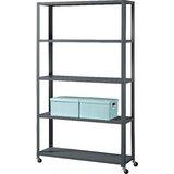 72 H x 41 W Metal Etagere Bookcase by Idea Nuova