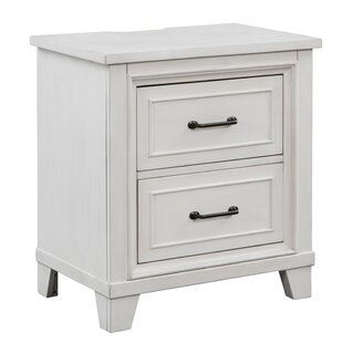 Robitaille Weathered 2 Drawer Nightstand
