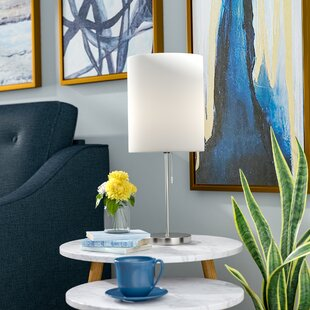 Reviews Declan Contemporary Candlestick 19.5 Table Lamp By Harriet Bee