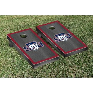 NAIA Onyx Stained Border Version Cornhole Game Set
