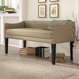 Latitude Run Miesha Upholstered Bench