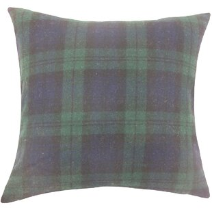Camryn Plaid Wool Throw Pillow