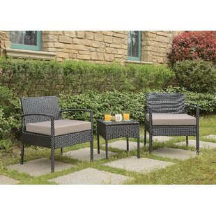 Howze 3 Piece Conversation Set with Cushions  sc 1 st  Joss u0026 Main & Outdoor Sofa Sets | Joss u0026 Main