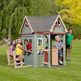 Victorian Inn All Cedar Playhouse. By Backyard Discovery