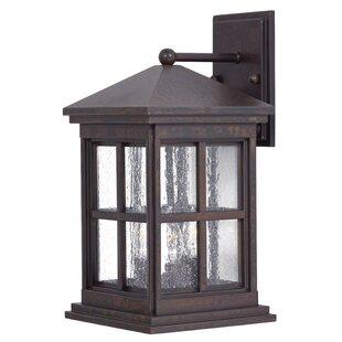 Great Outdoors by Minka Berkeley 3-Light Outdoor Wall Lantern