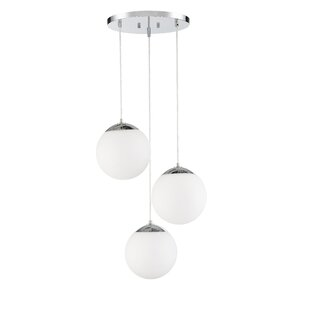 Pomeroy 3-Light Cluster Pendant by Orren Ellis