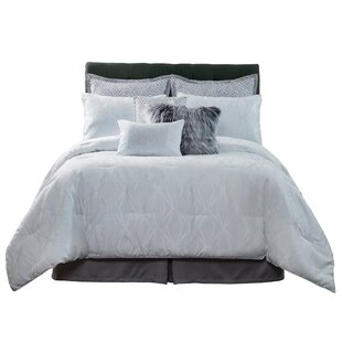 Woven 4 Piece Reversible Comforter Set