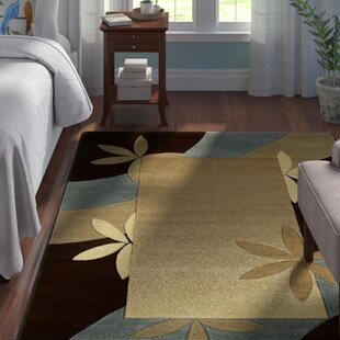 Great deal Ganley Piper Hand-Knotted Black/Blue/Beige Area Rug ByAndover Mills