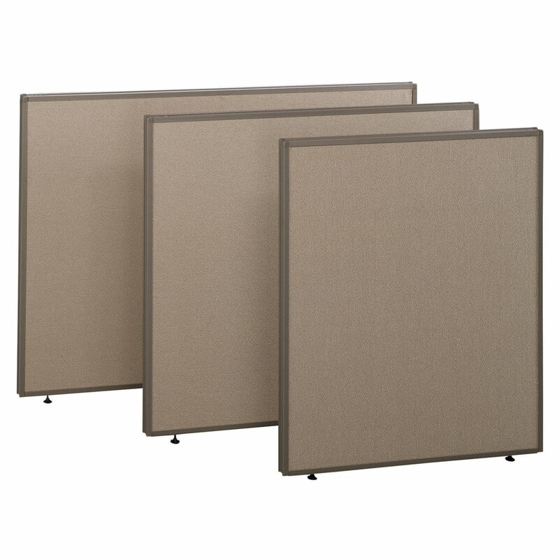"ProPanel Privacy 1 Panels Room Divider, 43"" H x 36"" W"