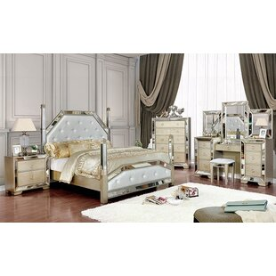 Susann Upholstered Panel Configurable Bedroom Set by House of Hampton